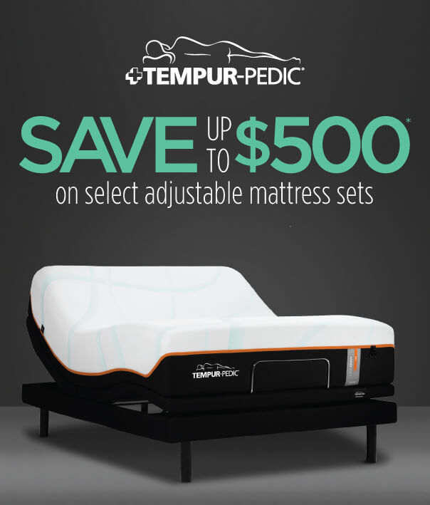 Experience Tempur-Pedic Sleep Today