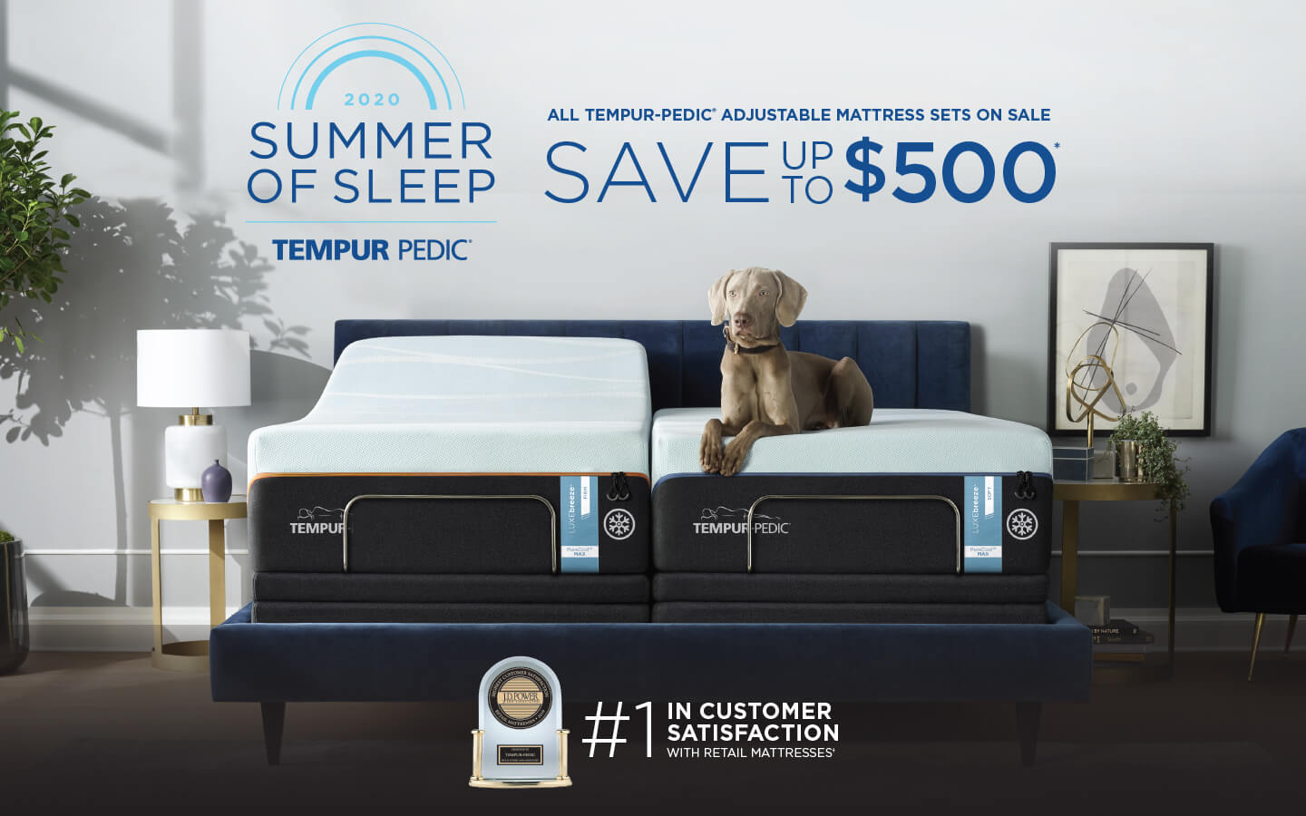 Tempur-Pedic Presidents Day Event